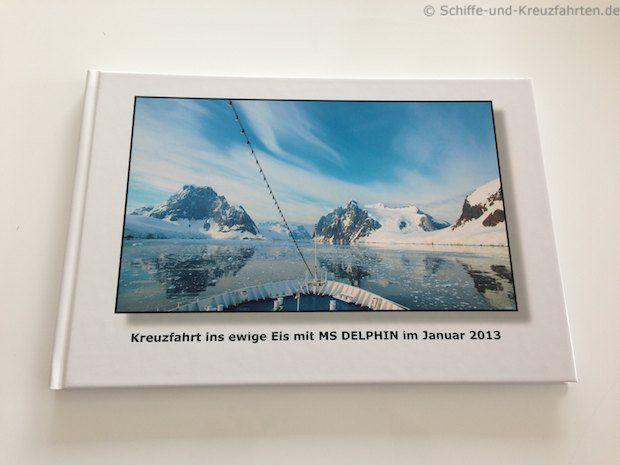 Antarktis-Fotobuch - Cover