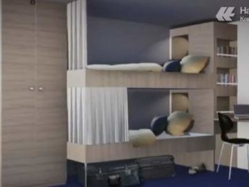 Crewkabine - MS Europa 2 / © Hapag-Lloyd Cruises (Screenshot - Video)