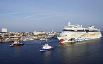 Hansesail in Rostock: AIDAmar und AIDAbella sind zu Gast