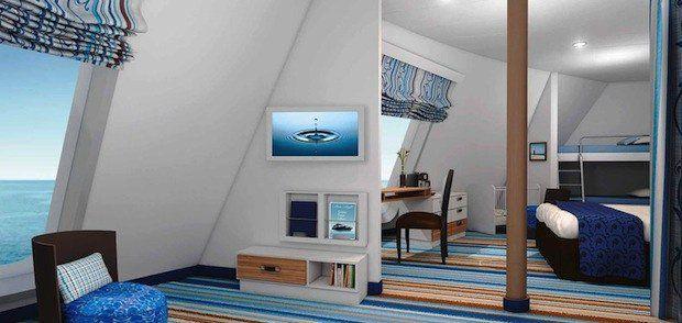 Familien-Aussenkabine auf der Mein Schiff 3 / © TUI Cruises