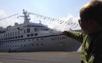 Reisebericht: MS Astor mit Kind: Anreise, Einschiffung und Leinen los