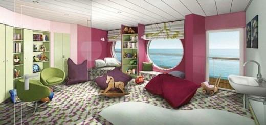 """Das """"Nest"""" im Kidsclub der Mein Schiff 3 / © TUI Cruises"""