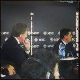 Pressekonferenz vor der Taufe  - MSC Prezioasa