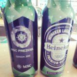Preziosa Taufbier von Heineken  - MSC Prezioasa