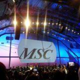 Taufzeremonie MSC Preziosa
