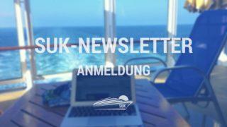 Kostenfreier Kreuzfahrt-Newsletter von Schiffe und Kreuzfahrten