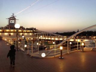 Reisebericht MSC Magnifica Nordland: Anreise und Abfahrt ab Hamburg