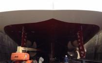 AIDAbella ist wieder hübsch: Bilder aus der Werft 2013