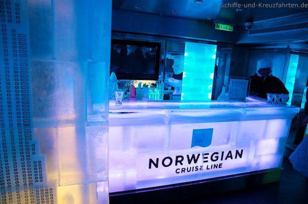 Icebar - Norwegian Breakaway