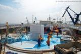 Independence of the Seas - Trockendock bei Blohm und Voss 20