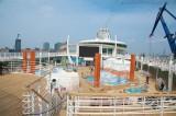 Independence of the Seas - Trockendock bei Blohm und Voss 29