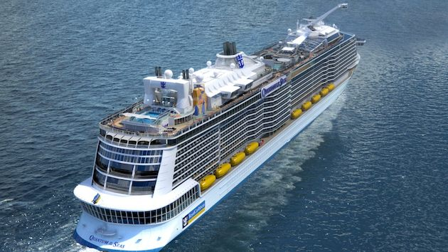 Quantum of the Seas von oben / © Royal Caribbean