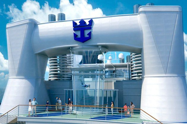 Ripcord by iFly - Skydiving - Quantum of the Seas / © Royal Caribbean