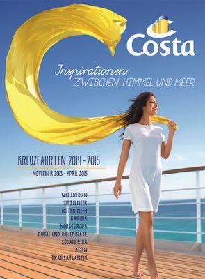 Costa Kreuzfahrten Katalog 2014/2015 / © Costa Kreuzfahrten