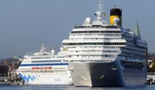 12 Erstanläufe im Jahr 2015 im Rostocker Kreuzfahrthafen