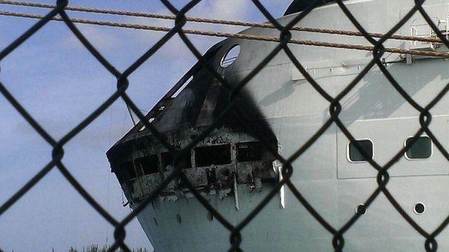 Feuer auf der Grandeur of the Seas / © Royal Caribbean