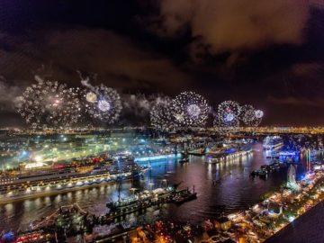 Hamburger Hafengeburtstag 2017 / © AIDA Cruises