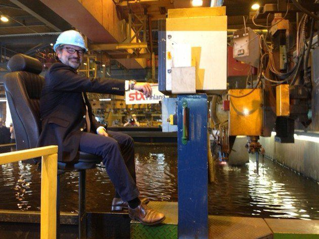 Mein Schiff 4 - Richard Vogel startet die Produktion