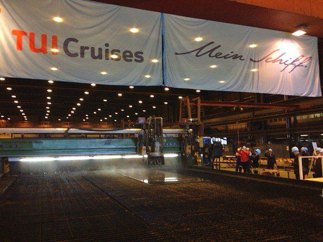 Mein Schiff 7 und Mein Schiff 8 werden auf der Meyer Turku Werft in Finnland gebaut - Auslieferung in 2018 bzw. 2019 / © TUI Cruises