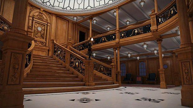 Titanic 2: Atrium (Treppenaufgang) / © Blue Star Line
