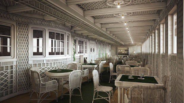 Titanic 2: Café Parisien / © Blue Star Line