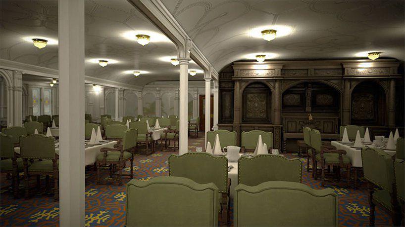 Titanic 2: Speiseraum der ersten Klasse / © Blue Star Line