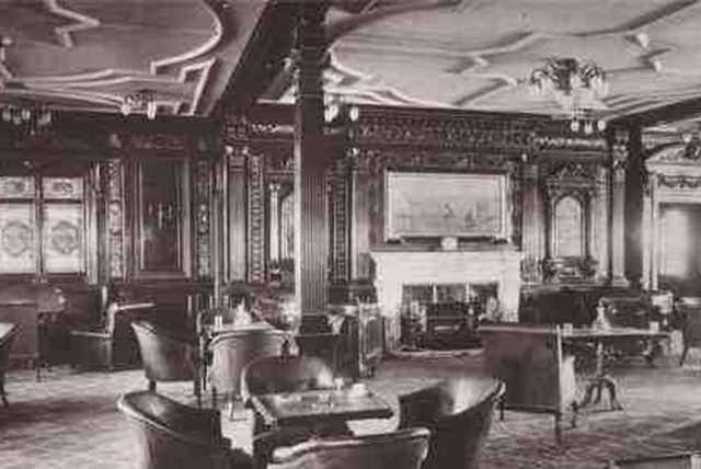 Titanic 1912: Raucherlounge / © Blue Star Line
