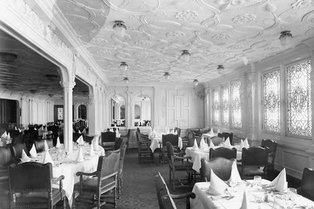 Titanic 1912: Speiseraum der ersten Klasse / © Blue Star Line