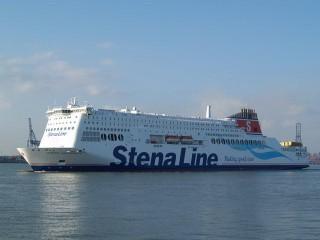 Stena Hollandica beim Einlaufen in Harwich © Seefahrt-Aktuell/Marcel Brech