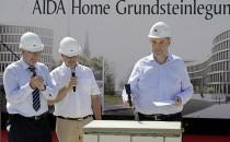AIDA Home – Grundsteinlegung vom neuen AIDA Bürokomplex