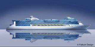 Color Line Kreuzfahrtschiff - Stella Polaris / © Falkum Desing Oslo