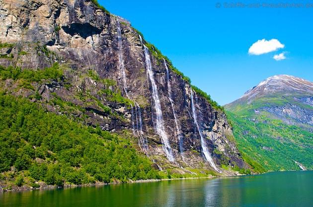 Die sieben Schwestern im Geirangerfjord 16