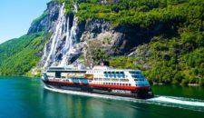 MS Midnatsol im Geirangerfjord: Die sieben Schwestern (Bilder und Video)