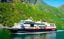 Große Geburtstagsfeier von Hurtigruten in Trondheim