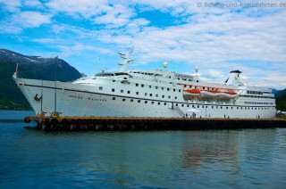 Ocean Majesty in Andalsnes