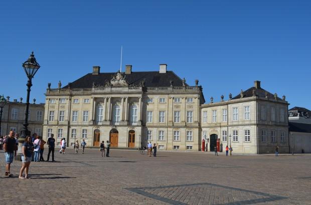 Schloss Amalienborg - Bildquelle: Schiffe und Kreuzfahrten.de/Marcel Brech