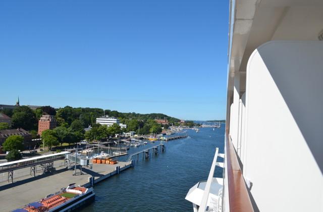 MSC Poesia am Ostseekai in Kiel - Bildquelle: Schiffe und Kreuzfahrten/Marcel Brech