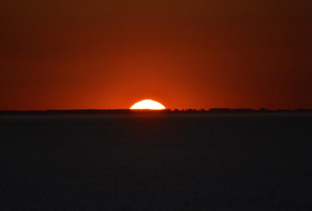 Sonnenuntergang auf der Ostsee - Bildquelle: Schiffe und Kreuzfahrten/Marcel Brech