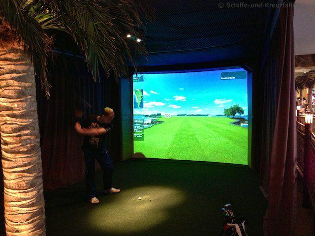 AIDA 3D-Golfsimulator