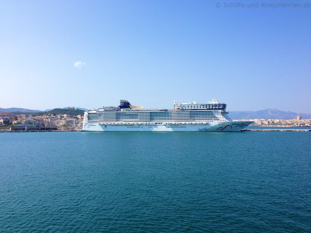 Norwegian Epic in Palma de Mallorca