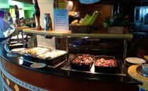 Frühstück im Calypso-Restaurant