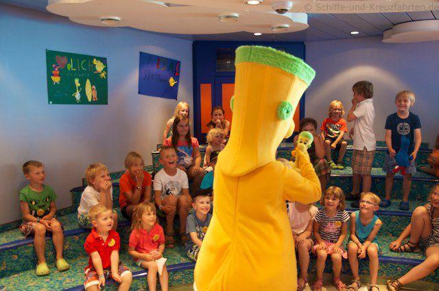 Itzi mit Itzi im Kidsclub