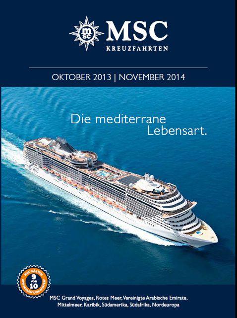 MSC Kreuzfahrten präsentiert neues Programm für Winter 2013/14 und Sommer 2014 - Bildquelle: MSC Kreuzfahrten