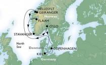 MSC Kreuzfahrten Nordland- und Ostsee-Kreuzfahrten im Detail