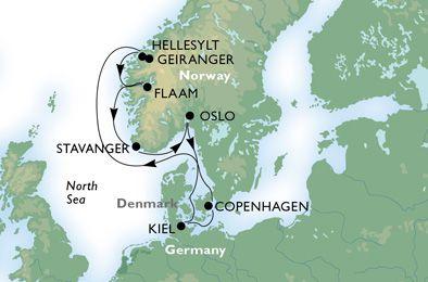 Nordland und Ostsee - Bildquelle: MSC Kreuzfahrten