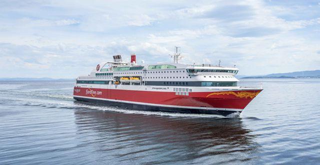 MS Stavangerfjord der Reederei Fjord Line - Bildquelle: Fjord Line/Espen Gees