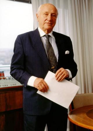 Sten Allan Olsson 1916-2013 - Bildquelle: Stena Line