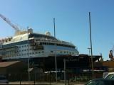 Mein-Schiff-2-Umbau-Lloyd-Werft-17.April-2011-4