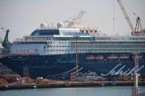 Mein Schiff 2 nach dem Umbau in der Lloyd Werft