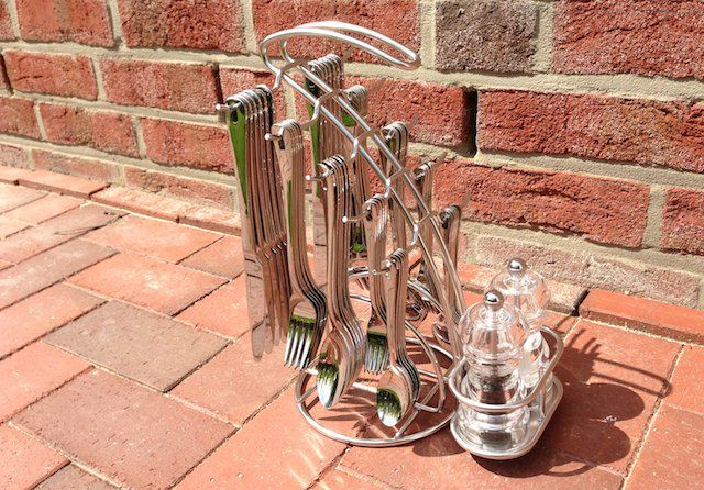 aida besteckst nder von hepp. Black Bedroom Furniture Sets. Home Design Ideas